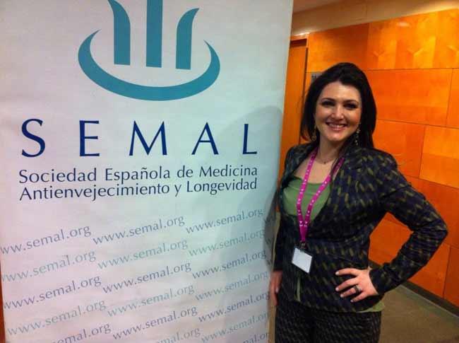 Dra. Gianna Zaffari Frey no SEMAL