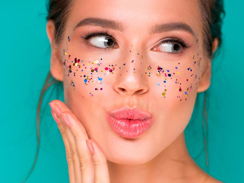 Preenchimento labial para o Carnaval
